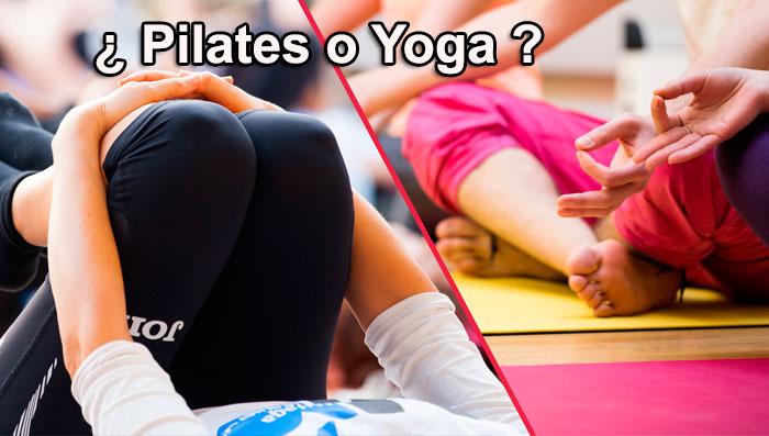 hacer pilates o yoga