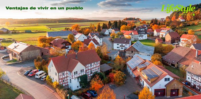 ventajas de vivir en un pueblo pequeño