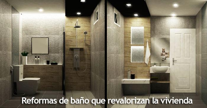 reformas de baños modernos revalorizan tu vivienda