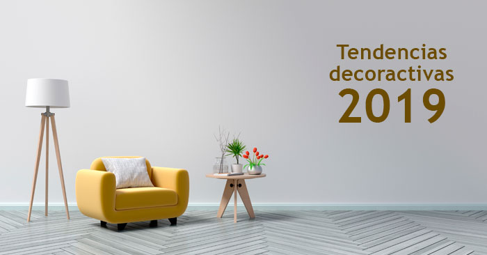 Tendencias de decoración de 2019