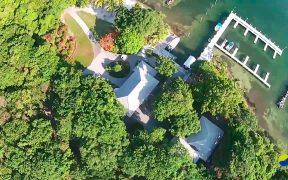 Casas en islas privadas