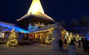 la casa de Papá Noel
